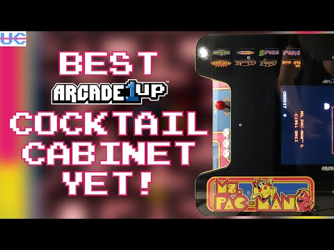 Best Cocktail Cabinet from Arcade1up Yet? Ms. Pac-Man Head to Head (cocktail) Full Review from Unqualified Critics
