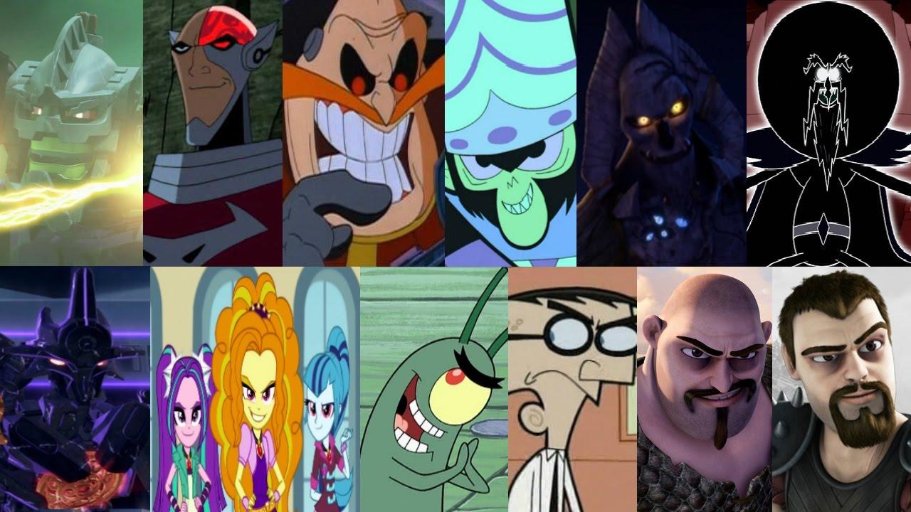 defeats of my favorite cartoon villains part 6 youtube