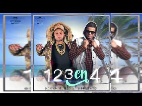 Don Miguelo Feat  Sensato - 1 2 3 En 4 (Official Song)