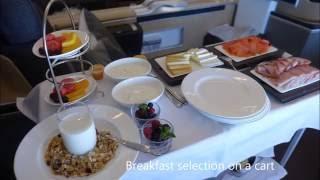 lufthansa first class experience montreal munich a330
