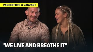 Vanderford & VanZant | Married to the Fight Game
