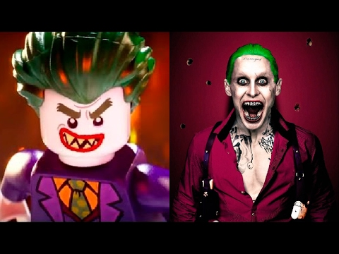 Thumbnail: The LEGO Batman Movie in REAL LIFE All Characters