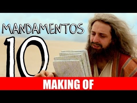 MAKING OF – 10 MANDAMENTOS