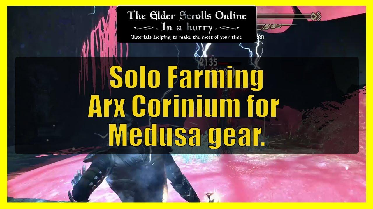 Download Solo farming Arx Corinium for Medusa Gear