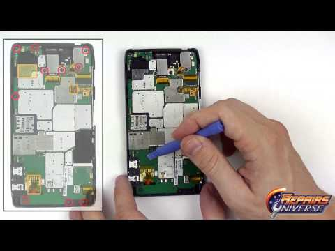Motorola Droid Razr HD Rear Camera Replacement Guide