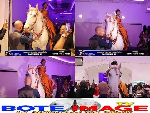 Paris Tombe Mariage De : TONY LE PRINCE Et GERTA Chose Grave Akoti Na Cheval Na Salle
