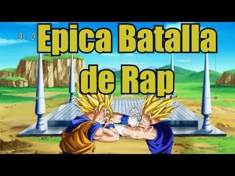 Goku Vs Vegeta Rap - Epicas Batallas De Rap (Video Oficial) Sudorfrio ft Pipo.