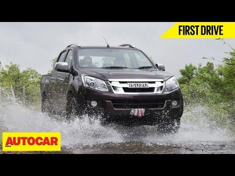 Isuzu D-Max V-Cross | First Drive | Autocar India