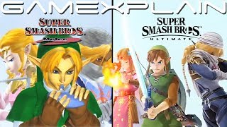 Melee's Intro Recreated in Super Smash Bros. Ultimate's Video Editor...and It's Amazing! We Compare!