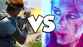 Gambar cover Black Ops 4 Blackout VS Battlefield 5 Firestorm...