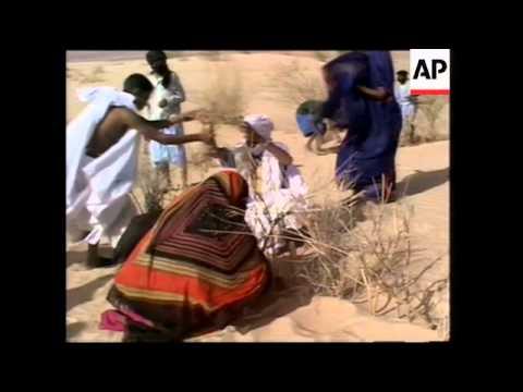 RR0315/B  Mauritania: Desertifcation