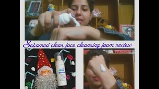 Sebamed clear face cleansing foam review /Sebamed review / Sebamed product review/acne free skin ?