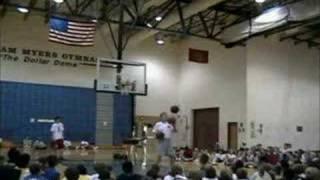 Sick Basketball Trick Shots By Tim Nolan
