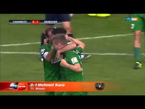 Mehmet Kara :Tor Chemnitzer FC - Preußen Münster (12.09.15)