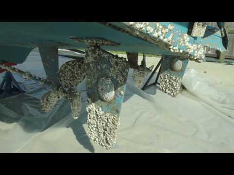 Western Colorado Mobile Dustless Blasting Marine Antifouling Paint Removal