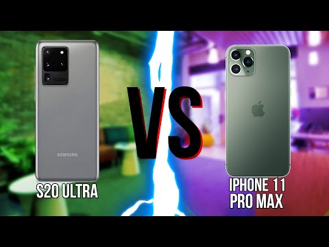 Samsung Galaxy S20 Ultra ПРОТИВ IPhone 11 Pro Max!