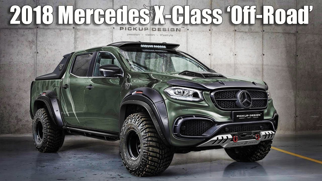 Ultimate Pickup Tuning 2018 Mercedes X Class Off Road By Carlex