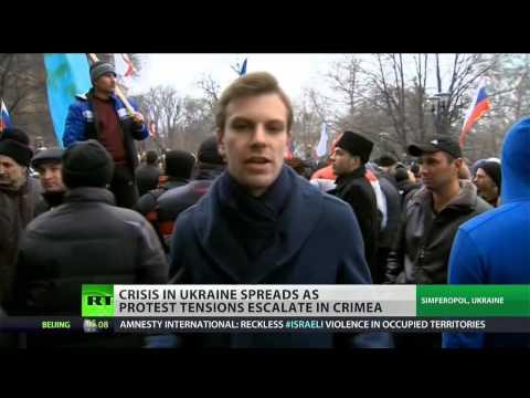 Unrest in Crimea exemplifies growing division in Ukrainian society