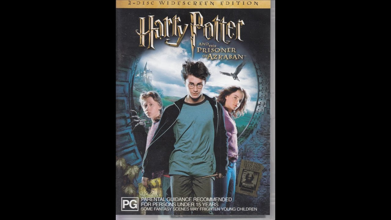 Opening To Harry Potter And The Prisoner Of Azkaban 2004 Dvd Australia Youtube