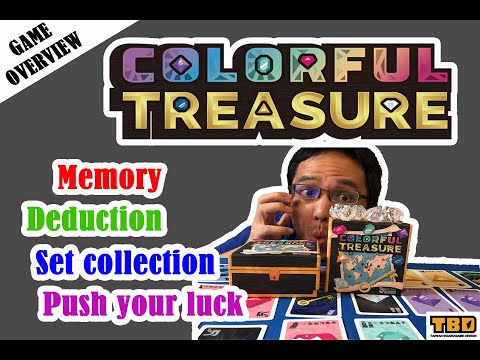 Overview of Colorful Treasure