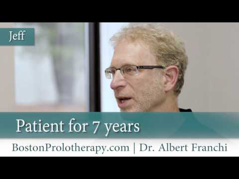 Boston Prolotherapy testimonial from Jeff