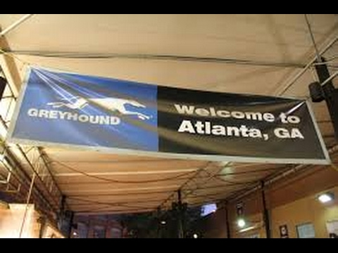 Atlanta, Georgia Greyhound Bus Station Review
