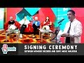 SIGNING CEREMONY between MyMusic Records and Sony Music Malaysia