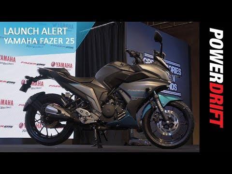 Yamaha Fazer 25 : Launch Alert : PowerDrift