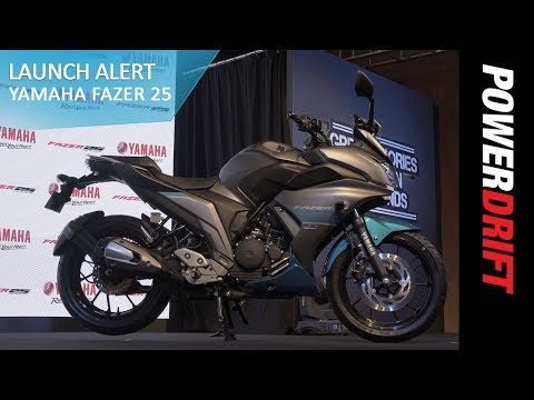 Yamaha Fazer 25 Launch Alert PowerDrift