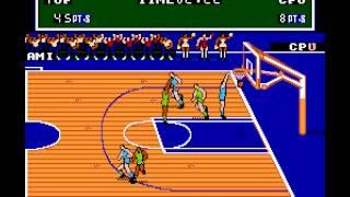 NES Longplay [315] Double Dribble