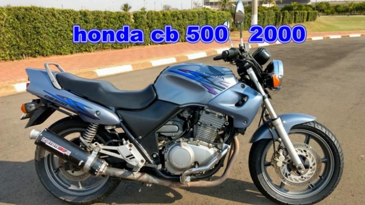 Honda Cb 500 1997 A 2004 Ficha Técnica E Top Speed Youtube