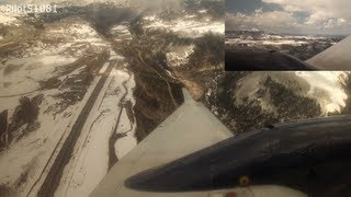 Incredible Landing in Telluride (KTEX) Great Lakes B1900D *Dual Wing View! - HD*