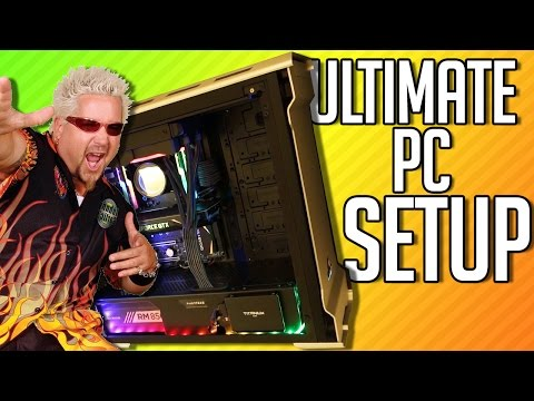 ULTIMATE GAMING PC SETUP + Ironside PC Giveaway!