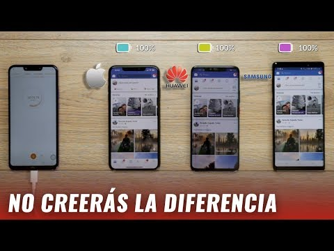 iPhone XS Max / Huawei Mate 20 Pro / Galaxy Note 9 - Versus de batería