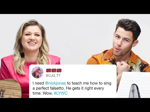 Chris Davis - Kelly Clarkson and Nick Jonas Answer The Big Questions About Singing