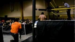Seth Rollins vs. Damien Sandow Part 2 - FCW House Show - Kissimmee FL - 3/2/12