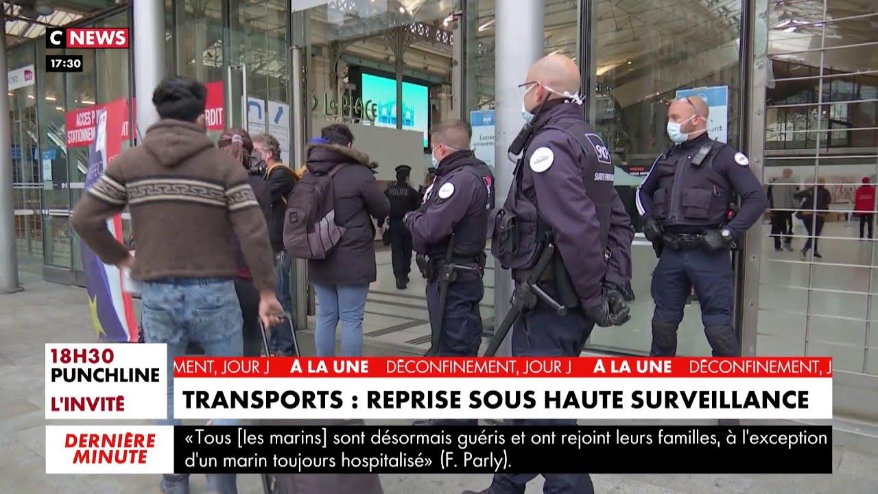 Transports : reprise sous haute surveillance