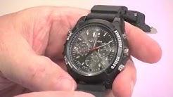 OctaCam Kamera-Uhr mit Full HD, Infrarot-Nachtsicht & 8GB Speicher