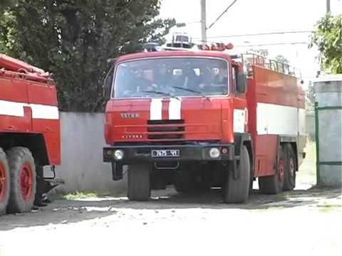 *RARE**TESLA AZD 501* Tatra 815 engine 4 responding to fire