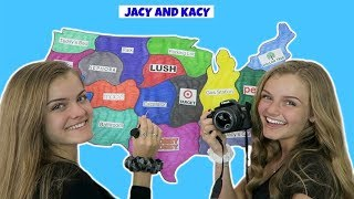 Throwing A Dart At A Map & Taking Photos There ~ Jacy and Kacy