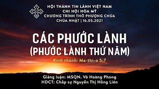 HTTL HÒA MỸ - Chương Trình Thờ Phượng Chúa - 16/05/2021