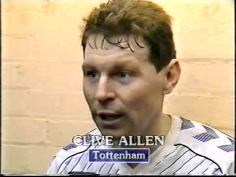 Arsenal 0 v 1 Tottenham Hotspur 1987 Littlewoods Cup Semi Final 1st Leg (Part 3)