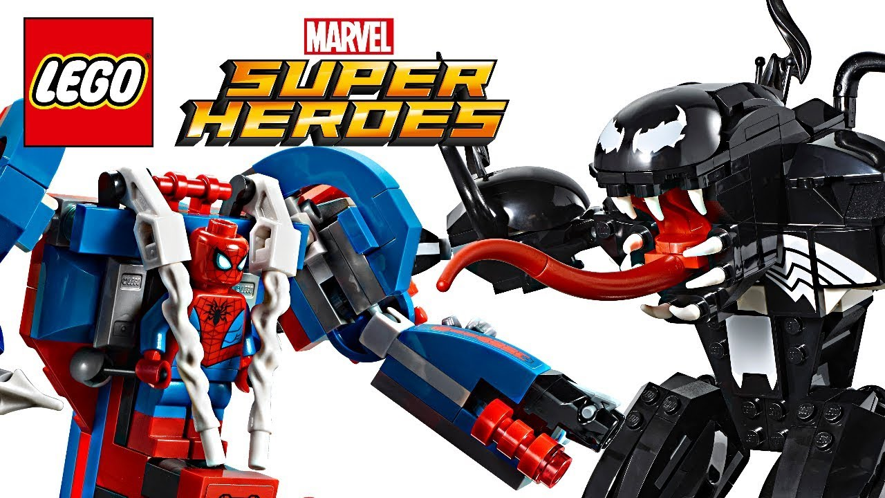 how to build lego spiderman car