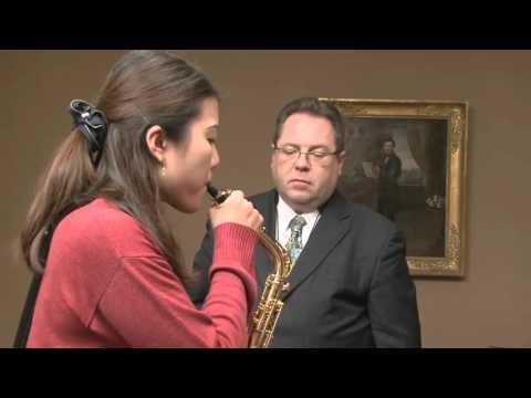 Master Class of Fabrice Moretti at Vandoren (English voice over)