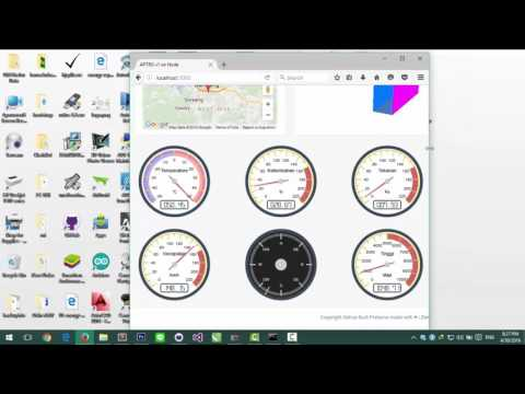 Graphical User Interface (GUI) APTRGNode Web Based.