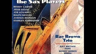 Ray Brown & Joe Lovano - How High The Moon