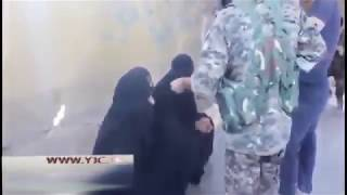 "Iraqi soldiers detained 3 suspicious ""women"" in nikabahs"