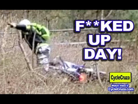 CycleCruza CRASH + BROKEN BONE (F**KED UP DAY!)