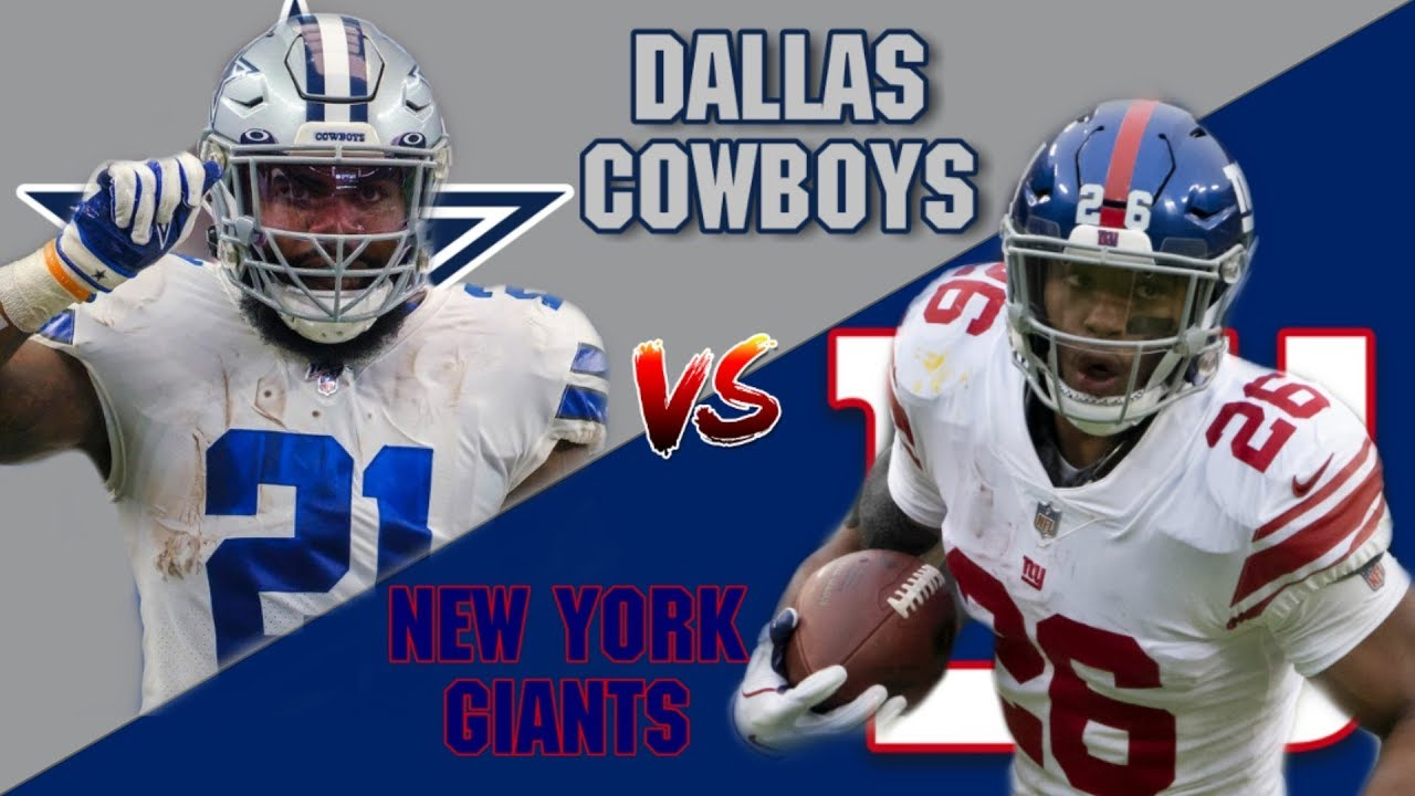 A CLASSIC TRAP GAME!? New York Giants vs Dallas Cowboys 2019 Week 9 Preview!