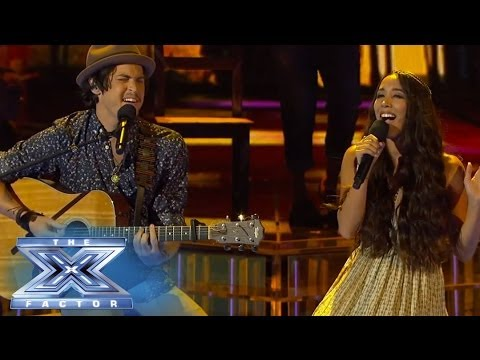 Alex & Sierra Cover Robin Thicke - THE X FACTOR USA 2013 Travel Video